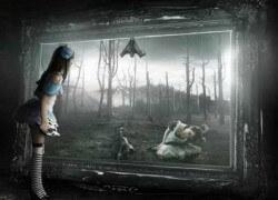 Мир зазеркалья, мир абсолютной неизвестности