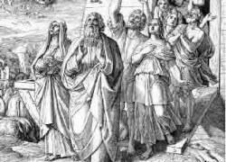 Выход Ноя из Ковчега Юлиус Шнорр Карольсфельд