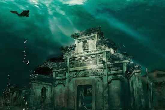 подводные города призраки