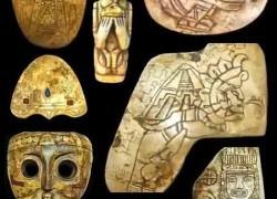 посмотрите на страные образы древней культуры майя
