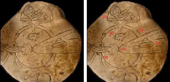 символичное отображение корабля и пилота космического корабля
