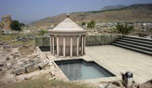 удивительная находку в Памуккале - ритуальный комплекс врата Плутона или Плутониум цифровая обр-ка