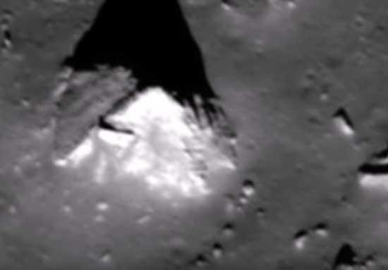 Старые пирамиды на Луне, кто это мог здесь построить