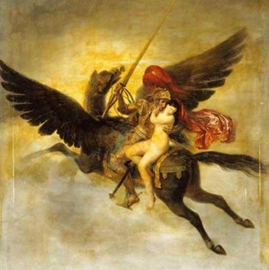 Гиппогриф -летучий конь воина