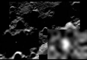 Взрыв на Луне от столкновения с разгонным блоком «Центавр»