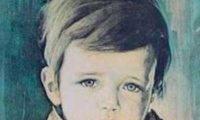 Картины Браголини из серии плачущие дети освещены Дьяволом