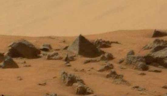 Пирамиды на Марсе, артефакты инопланетной цивилизации