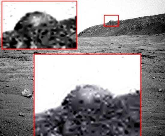 Странный объект на Марсе