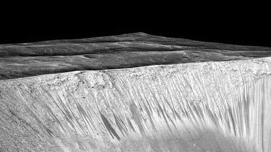 Загадка полос на Марсе решена