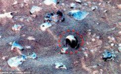 Диковинные окаменелости Марса