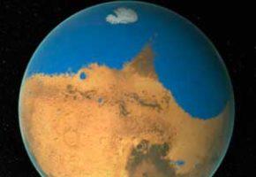 Марс был живой планетой с океаном