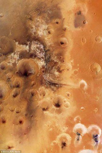 Фото марсианской области