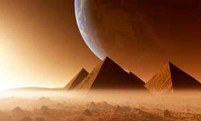 Статуи и пирамиды на Марсе Вот так загадка.