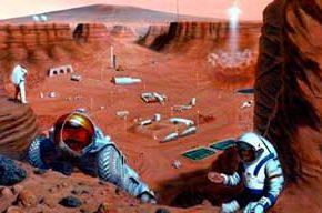 Человечество идет колонизировать Марс