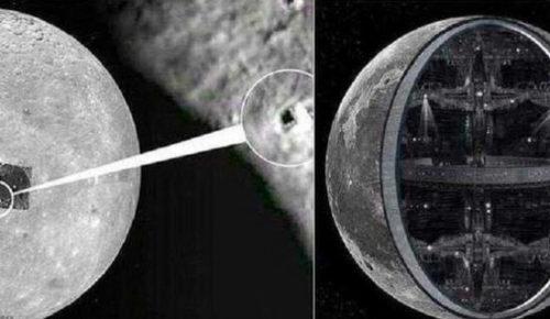 Луна технологичный объект внеземной цивилизации
