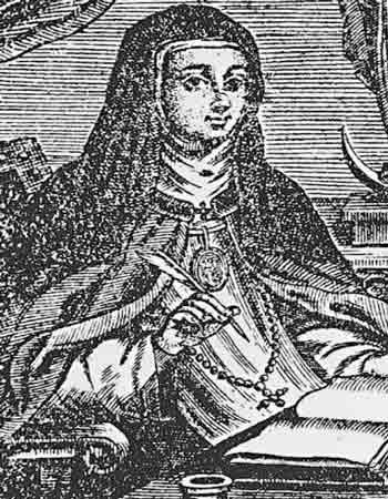 Мария де Агреда владела телепортацией, может дело в хитром медальоне