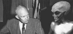 Президент Эйзенхауэр встречался с инопланетянами