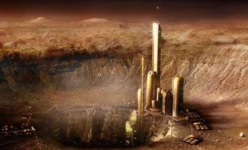 Марсианские города - будущее Четвертой планеты