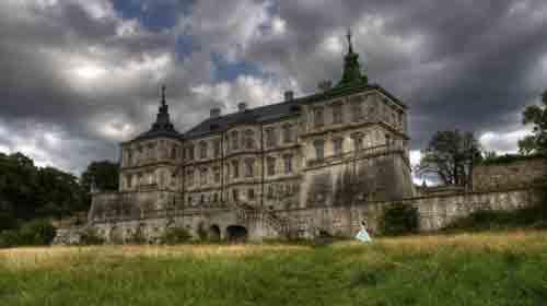 Подгорецкий замок - усадьба с привидением