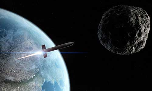 ракета перехватчик астероида