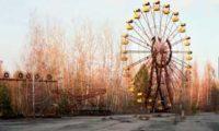 Знаменитое колесо обозрения Чернобыльской зоны